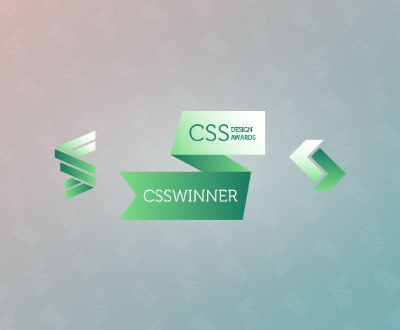 We've received CSS Design Awards and CSSWinner SOTW awards!